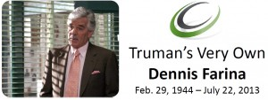 Did you know that Dennis Farina was a Truman College student before he became a famous actor? Click on the picture to download a bio of this extraordinary Truman alumnus.